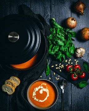 tomatensoep van Daisy de Fretes