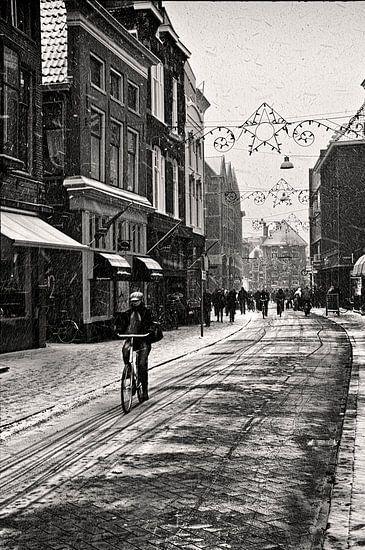 Sneeuw in Groningen