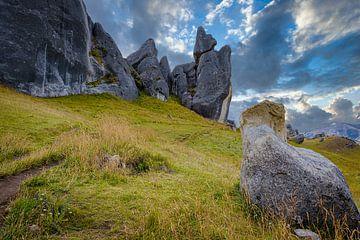 Castle Hill, Neuseeland von Rietje Bulthuis