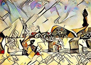 Kandinsky trifft Warnemünde 3 von zam art