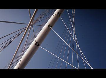 Calatrava Bridge Hoofddorp van Hugo Kuijper