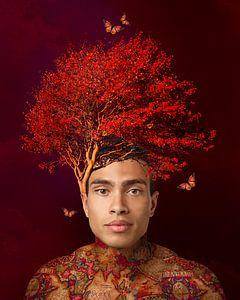 De bomen man van OEVER.ART