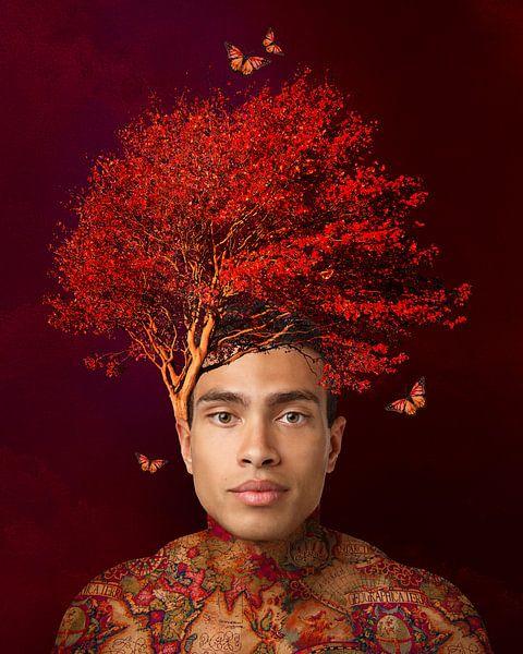 L'homme arbre sur OEVER.ART