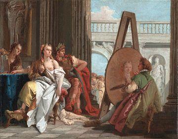 Giambattista Tiepolo, Alexander der Große und seine Lieblingskonkubine Campaspe in der Werkstatt von von Atelier Liesjes