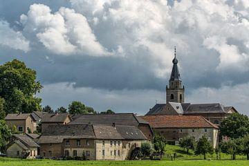 Mooi stukje Limburg, landschap bij Wijlré von Leo Langen