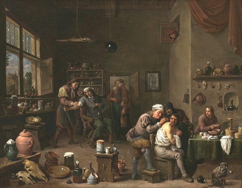 Der Chirurg, David Teniers II von Meesterlijcke Meesters