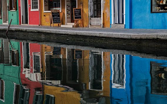 Burano reflected van Teun Ruijters