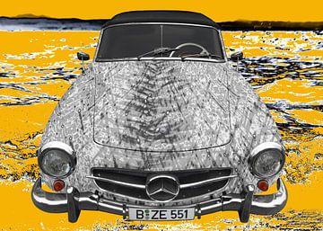 Mercedes-Benz 190 SL Art Car GRAAY van aRi F. Huber