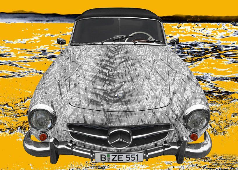 Mercedes-Benz 190 SL Art Car GRAAY von aRi F. Huber
