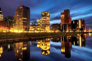Amsterdam Zuidas reflectie van