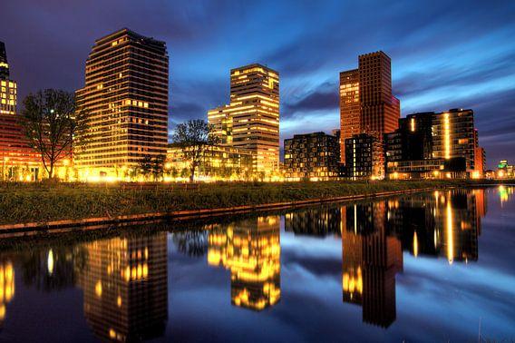 Amsterdam Zuidas reflectie