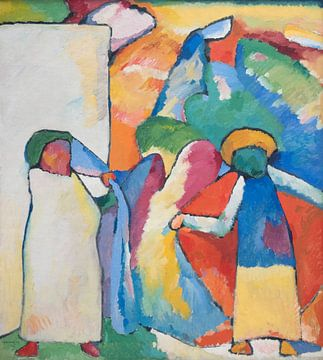 Improvisation 6 (African), Wassily Kandinsky sur