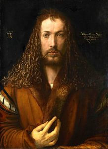 Albrecht Dürer.Selbstbildnis wie Christus