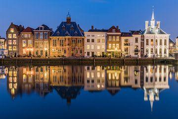 Stadhuiskade Maassluis reflète  sur Catstye Cam / Corine van Kapel Photography