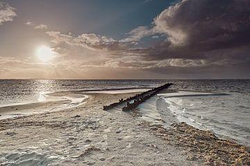 Strand Hindeloopen-Friesland van Wilfried Roovers