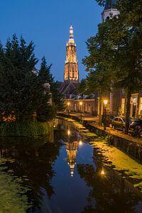 Markante toren in Amersfoort