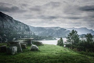 Lysefjord sur Freddy Hoevers