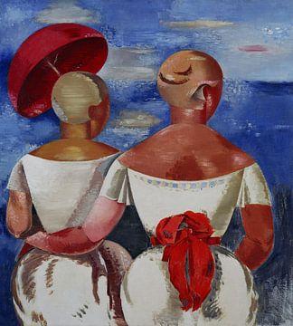 Jēkabs Kazaks, Damen am Meer - 1920 von Atelier Liesjes