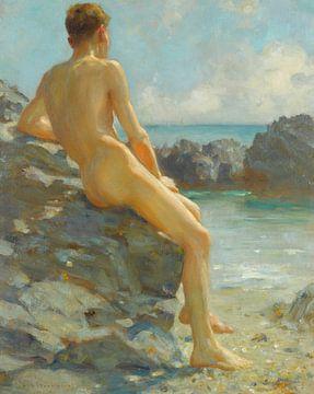Der Badende, Henry Scott Tuke