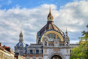 Antwerpen centraal station von Dennis van de Water