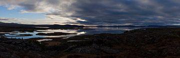 IJsland - Þingvellir - panorama van Irene Hoekstra