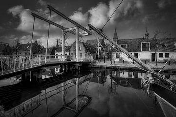 Baanbrug - Edam (NL) z/w2