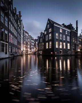 Voorburgwal Amsterdam von Jeroen van Dam