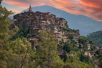 Bergdorp in Italië