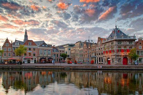 Aan de Spaarne te Haarlem van