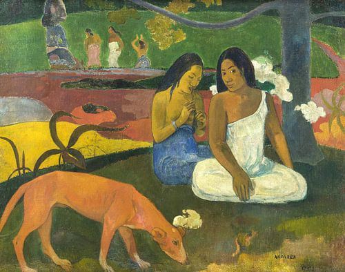 Paul Gauguin. Arearea van 1000 Schilderijen