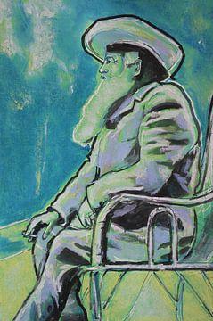 Claude Monet von Helia Tayebi Art