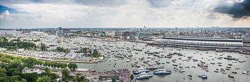 #SAIL2015 panorama - AMSTERDAM. van Renzo Gerritsen