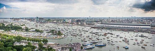 SAIL 2015 Panorama - AMSTERDAM von Renzo Gerritsen