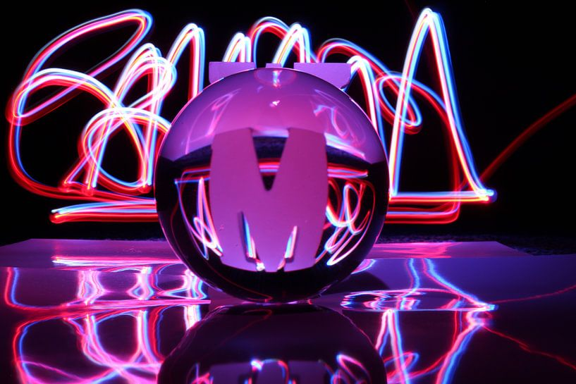 Glaskolben (Kunst / Art) von Fotografie Sybrandy