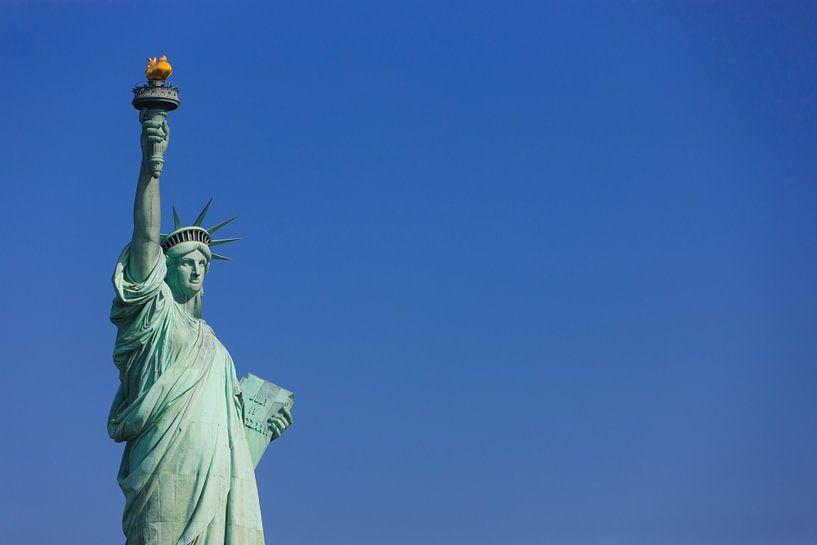 Vrijheidsbeeld  in New York City van Henk Meijer Photography