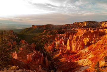 Bryce-Canyon-Nationalpark Sonnenaufgang Amerika von Marjolein van Middelkoop