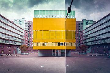 Stedelijk Gymnasium te 's-Hertogenbosch, Nederland van Marcel Bakker