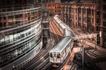 Train de Chicago