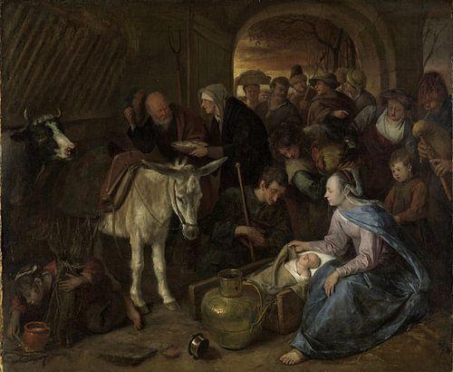 De aanbidding der herders, Jan Havicksz. Steen van Meesterlijcke Meesters