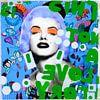 Marilyn Monroe Dadaismus - Sorry Gustav Klimt - is not a love Story von Felix von Altersheim Miniaturansicht