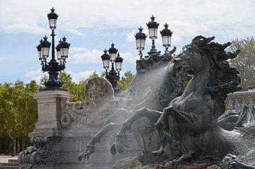 Monument aux Girondins, Bordeaux van Inge van Dam