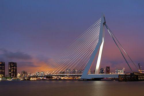 Erasmusbrug Rotterdam van