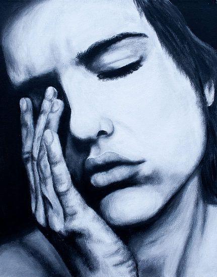 vrouw emotie