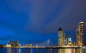 Skyline Rotterdam van Martijn Smit