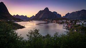 Reine, Lofoten, Noorwegen van
