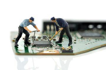 computer reparatie van Compuinfoto .