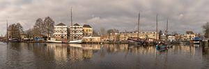 Panoramafoto Museumhaven in Gouda van