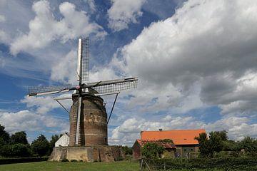 Graanmolen Gronsveld - Grain mill at Gronsveld von Ton Reijnaerdts