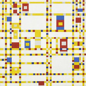 Broadway Boogie Woogie, Piet Mondrian von