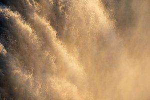 Waterval abstract detail van Thomas Kuipers